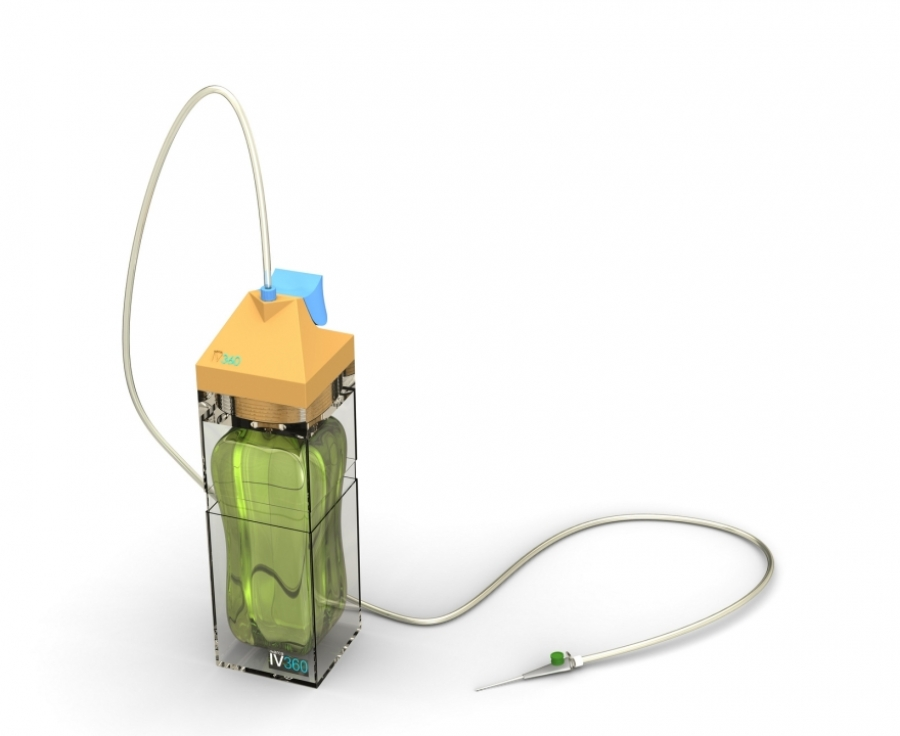 Portable IV